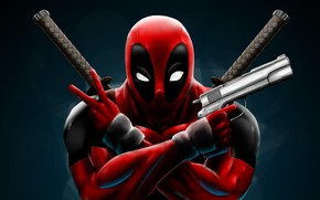 Picture weapons, comics, Deadpool Marvel
