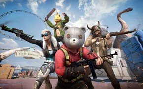 Picture weapons, war, PlayerUnknown's Battlegrounds