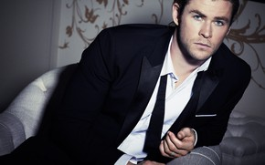 Wallpaper look, male, beautiful, Chris Hemsworth, Simon Emmett