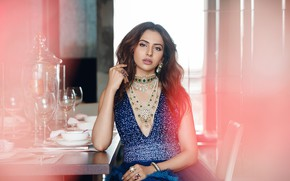 Picture girl, beautiful, model, pretty, brunette, cute, indian, actress, celebrity, Glamour, bollywood, makeup, Rakul Preet Singh