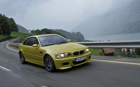 Picture coupe, BMW, E46, BMW M3, on the road, M3, two-door, M3 Coupe