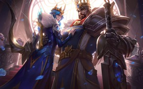 Picture Queen, king, League Of Legends