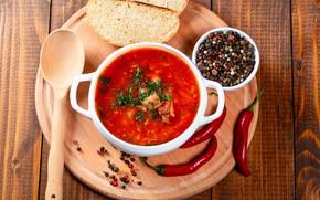 Picture pepper, soup, Chile