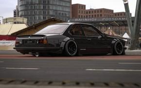 Picture Auto, Black, The city, BMW, Machine, BMW M6, Rendering, Concept Art, Transport & Vehicles, Rostislav …