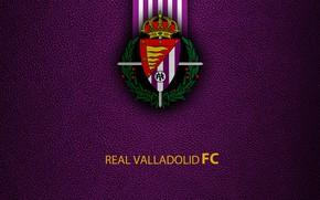 Picture wallpaper, sport, logo, football, La Liga, Real Valladolid