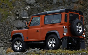Picture Land Rover, 2009, Defender, Limited Edition, three-door