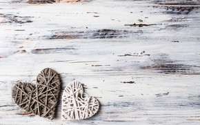 Picture love, heart, hearts, love, wood, romantic, hearts, wooden, valentine