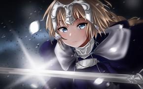 Picture look, girl, art, Fate / Grand Order, ruler