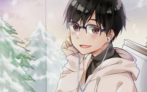 Picture look, guy, Yuri on the ice, Yuri Katsuki, Yuri On Ice, Yuri