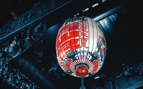 Picture characters, cyberpunk, Chinese lantern, бумажный фонарик, chinese paper lantern