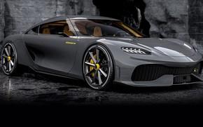 Picture design, technology, exterior, sports coupe, Koenigsegg Gemera