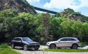 Picture photo, Mercedes-Benz, Cars, Crossover, 4MATIC, GLC, AMG Line, 2019, 300 L