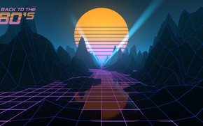 Picture Music, Style, Background, 80s, Sun, Style, Neon, Illustration, 80's, Synth, Retrowave, Synthwave, New Retro Wave, …