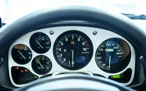 Picture Ferrari, 360, Modena, The instrument panel