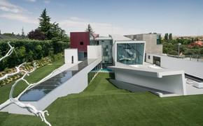 Picture architecture, Spain, solar panels, роскошный особняк в пригороде Мадрида, by Abiboo Architecture (Alfredo Muñoz), House …