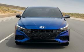 Picture car, cars, blue, hyundai, hyundai models, hyundai motors, hyundai cars, hyundai elentra, elentra, elentra model