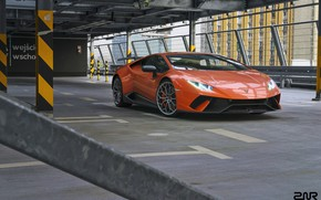 Picture Auto, Lamborghini, Machine, Orange, Rendering, Sports car, Vehicles, Huracan, Lamborghini Huracan, Transport, Transport & Vehicles, …