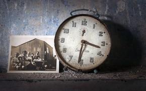 Picture photo, watch, alarm clock