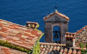 Picture roof, France, tile, Provence