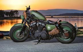 Wallpaper Harley Davidson, Bike, Motorcycle