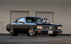 Picture Muscle, Car, Engine, Chevelle SS