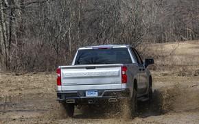 Picture Chevrolet, dirt, pickup, Custom, feed, Silverado, 2020