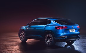 Picture Concept, Volkswagen, crossover, 2019, SUV Coupe