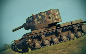 Picture the game, tank, kV 2 WORLD OF TANKS