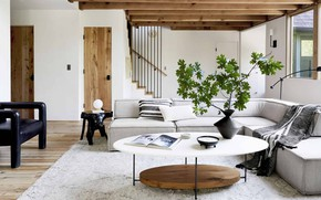 Picture room, interior, living room, by Emily Henderson, Moutain House LoRes21
