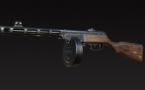 Picture USSR, The gun, PPSH-41, Georgy Shpagin