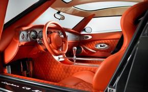 Picture car, interior, SUV, car, salon, Spyker, interior, Spyker D8 Peking to Paris, SSUV