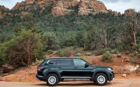 Picture Volkswagen, SUV, in profile, Atlas, 2020, Basecamp