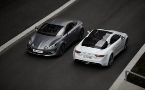 Picture asphalt, coupe, Alpine, 2019, A110S