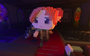 Picture magic, Game, indie, survival, Multiplayer, Fenix, The Faraway Land, FireTail, Voxel