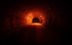 Picture lights, space, the tunnel
