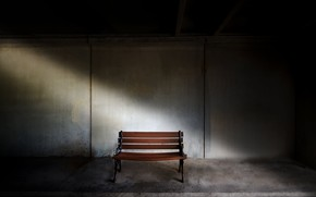 Picture background, bench, the basement