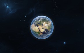 Picture Stars, Planet, Nebula, Earth, Space, Art, Earth, Planet, background by StarkitecktDesigns, Vadim Malook, by Vadim ...