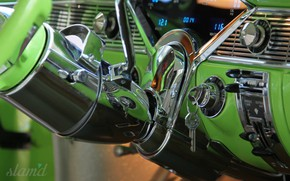 Picture Car, Old, Vintage, Dashboard