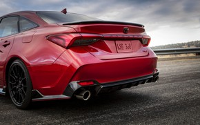Picture red, Toyota, sedan, Avalon, TRD, feed, 2020