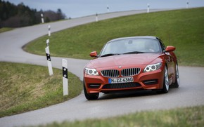 Picture BMW, Roadster, 2013, E89, BMW Z4, Z4, sDrive35is, S-shaped road