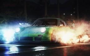 Picture Auto, 911, Porsche, Smoke, Machine, Porsche 911, Rendering, Concept Art, Game Art, Need For Speed …