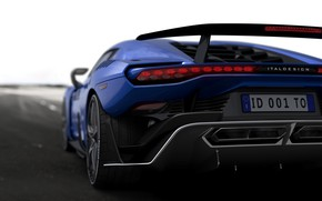 Picture supercar, V10, feed, ItalDesign, 2017, Zerouno, 5.2 L.