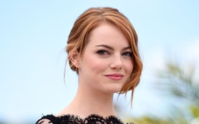 Picture look, portrait, makeup, actress, hair, Emma Stone, Emma Stone