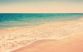 Picture sand, sea, wave, beach, summer, foam
