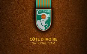 Picture wallpaper, sport, logo, football, National team, Ivory Coast