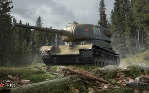 Picture WoT, World of Tanks, Wargaming, T-103
