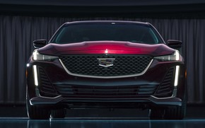 Picture Cadillac, front view, 2020, Premium Luxury, CT5