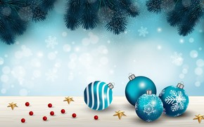Picture stars, snowflakes, branches, holiday, toys, Winter, Snow, ate, Christmas, Background, Texture
