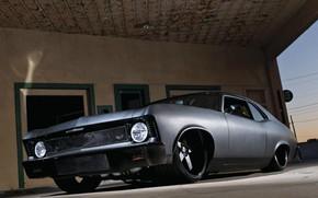 Picture Chevy, Nova, Custom, Vehicle