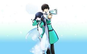 Picture gun, two, Mahou giving Koukou no Rettousei, Miyuki, Unlucky student in the school of magic, …